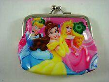 Princess Cinderella Kids Girls Children Coins Purse Money Pouch Bag + Pendant