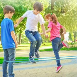 Classic Kids Outdoor Jump Game Elastic Rubber Jump Rope Toys For Children