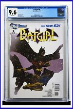Batgirl #6 CGC Graded 9.6 DC Comics April 2012 White Pages Comic Book