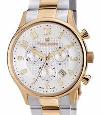 Mathieu Legrand Metropolitain Collection Chronograph Date Watch Made Switzerland