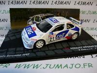RIT1E voiture 1/43 IXO Altaya Rallye RENAULT Mégane Maxi 1997 Andreucci