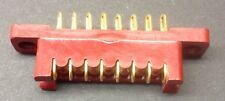"PCB Edge Connector 0.15""  8 Way Gold Plated Single Sided"
