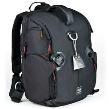"Waterproof DSLR SLR Camera Backpack Bag Shoulder Pack Padded 15.4"" Laptop Bag"