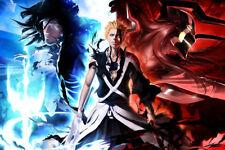 "Ichigo Bleach Gift Sword 36"" x 24"" Large Wall Poster Print Fan Art Anime"