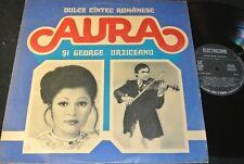 AURA SI GEORGE URZICEANU Dulce Cintec.../ Romanian LP ELECTRECORD ST-EPE 02167