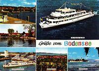 Grüße vom Bodensee , Ansichtskarte 1973 gelaufen