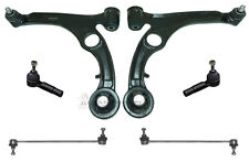 FIAT STILO FRONT SUSPENSION 2 WISHBONE ARMS BALL JOINTS 2 LINKS 2 TRACK ROD ENDS