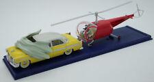 Tintin en Voiture - 2 118 047 + 048 La Chrysler jaune + L'hélicoptère rouge...