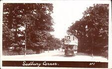 Sudbury near Harrow & Wembley. Sudbury Corner # 1. Tram.