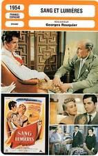 FICHE CINEMA : SANG ET LUMIERES - Gélin,Gabor 1954 Beauty and the Bullfighter