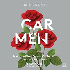 Bizet / Manhattan Chorus / Mauceri / Metropolitan - Carmen [New CD] Hybrid SACD