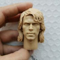 "1/6 DIY Anakin Skywalker Head Carving Unpainted Head Fit 12"" Male Figure Body"