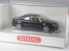 TOP: Wiking Serienmodell Audi A4 Cabrio mit Verdeck dunkelblau