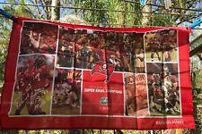 "NIP Holo Seal NFL Tampa Bay Buccaneers FL 22 1/4"" x 35 3/4"" Flag Souvenir"