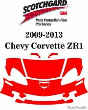 3M Scotchgard Paint Protection Film Pro Serie 2011 2012 2013 Chevy Corvette ZR1