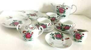 14-teilig Tee Service * Ostfriesenrose * August Warnecke Ostfriesland