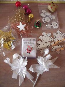 Weihnachtsdeko, Streudeko, Konvolut 20 Teile, teils neu