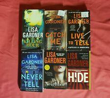 Lot of 8 Mystery Books By Lisa Gardner