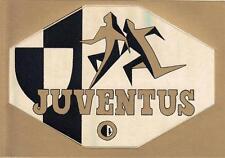 A7305) CARTOLINA ADESIVO DELLA JUVENTUS.