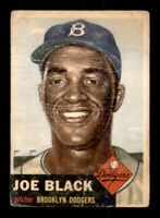 1953 Topps Set Break # 81 Joe Black PR MK *OBGcards*