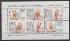 V4013 Portogallo/Papa Giovanni Paolo II MiNr Block 36 **