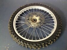 2002 02 Suzuki RM250 RM 250  Excel front rim wheel hub  01 03 04 05 OEM