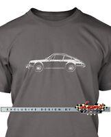 Porsche 912 Coupe T-Shirt for Men - Multiple Colors & Sizes - German Classic Car
