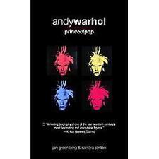 Andy Warhol, Prince of Pop by Sandra Jordan & Jan Greenberg c2007 NEW Paperback