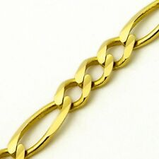 Bracelet Polished 5.10 grams 8 inches Unisex 14K Yellow Gold Figaro Links