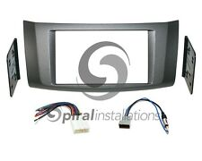 Radio Dash Kit Combo Standard & Oversized 2DIN + Wire Harness + Antenna NI00