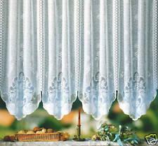 Gardinen Stores Vorhang weiß nit Kräuselband neu Typ39
