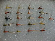 !OFERTA! 84 efémeras pardones. con muerte, Coq de Leon.  FLY FISHING