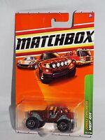 2010 Matchbox #99 MBX® 4x4 MATTE RED//PANTHERA TRACKERS//MOC