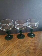 Glassware Cactus Stemmed Margarita Glasses Set of 4