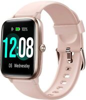 Smart Watch, Fitness Tracker with Heart Rate Monitor, Activity 1.3 Inch  (Pinik)