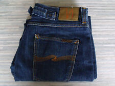 Men's Nudie Fast Freddy Dry Heavy Cinch-Back Jeans W31 L29