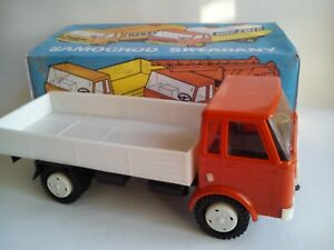 VINTAGE STAR TOY TRUCK  LARGE FRICTION POWERED POLAND NOT ORIG. BOX.