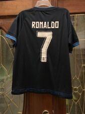 c8c78fea281 NWT Cristiano Ronaldo  7 soccer futbol Real Madrid Jersey Blue FIFA Adult  Medium