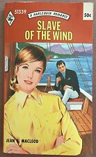 Slave of The Wind ~ JEAN S. MACLEOD ~ Mills & Boon Vintage