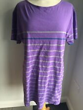 Crew Clothing Ladies Short Sleeve T-Shirt Dress / Tunic Size 18. Good Condition.