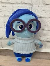 "NEW Disney Pixar Inside Out Sadness Plush Stuffed - 9"" Tall - w/ Sound"