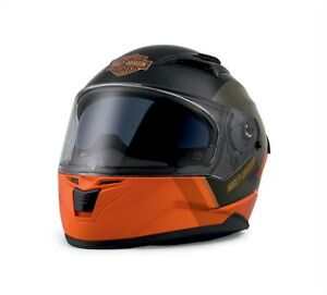 Harley-Davidson Killian M05 Full-Face Helmet Black & Orange 98114-20EX