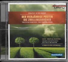 CD Franz Schubert `Der vierjährige Posten/Die Zwillingsbrüder` Neu/OVP