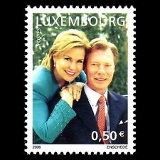 Luxembourg 2006 - Silver Wedding Anniversary Royalty - Sc 1177 MNH