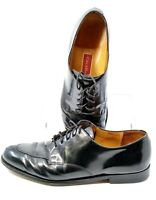 Cole Haan Calhoun Oxford Men's Sz 13 D Black Leather Split Apron Toe Dress Shoes