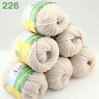 Sale 6Balls x50g Soft Worsted Chunky Hand Sweater Wool Knitting Yarn Gift 226