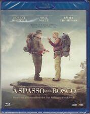 Blu-ray A SPASSO NEL BOSCO con Robert Redford Nick Nolte nuovo 2015