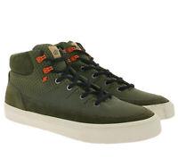 Boxfresh Francker Mid Top Turnschuhe Herren Sneaker-Boots Skater-Schuhe Khaki