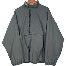 Vintage Reebok Green Half Zip Pullover Windbreaker - Mens Medium