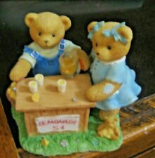 Cherished Teddies Figurine Albert And Susann - Whenever Life Hands You Lemons, M